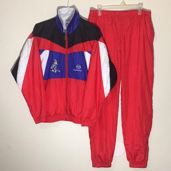 2397509aeddf 🔥Vintage 1980s Rare Sergio Tacchini Tracksuit. M_5c132dcf2beb797eb1aad10b